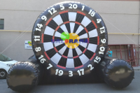 Inflatable Game Foot Dart 5x3.5x4m