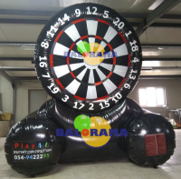 Inflatable Play Foot Dart Foot 3x1.5x3m
