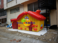 Inflatable Play House Advertising Balloon