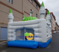 Inflatable Playground Mosque 5x5x5.5m