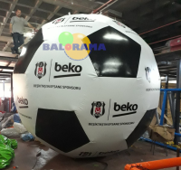 Inflatable Soccer Ball Advertising Balloon 4m