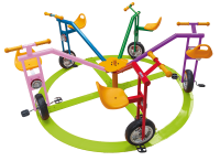 Rotating Bicycle for 5 people