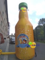 Beer Bottle Advertising Balloon 5m